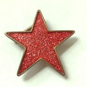 Accessories - RED STAR BELT BUCKLE